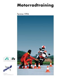 ifz-Broschüre Motorrad-Training-Termine-1994