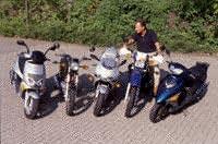 klein-motorisierte-Motorräder